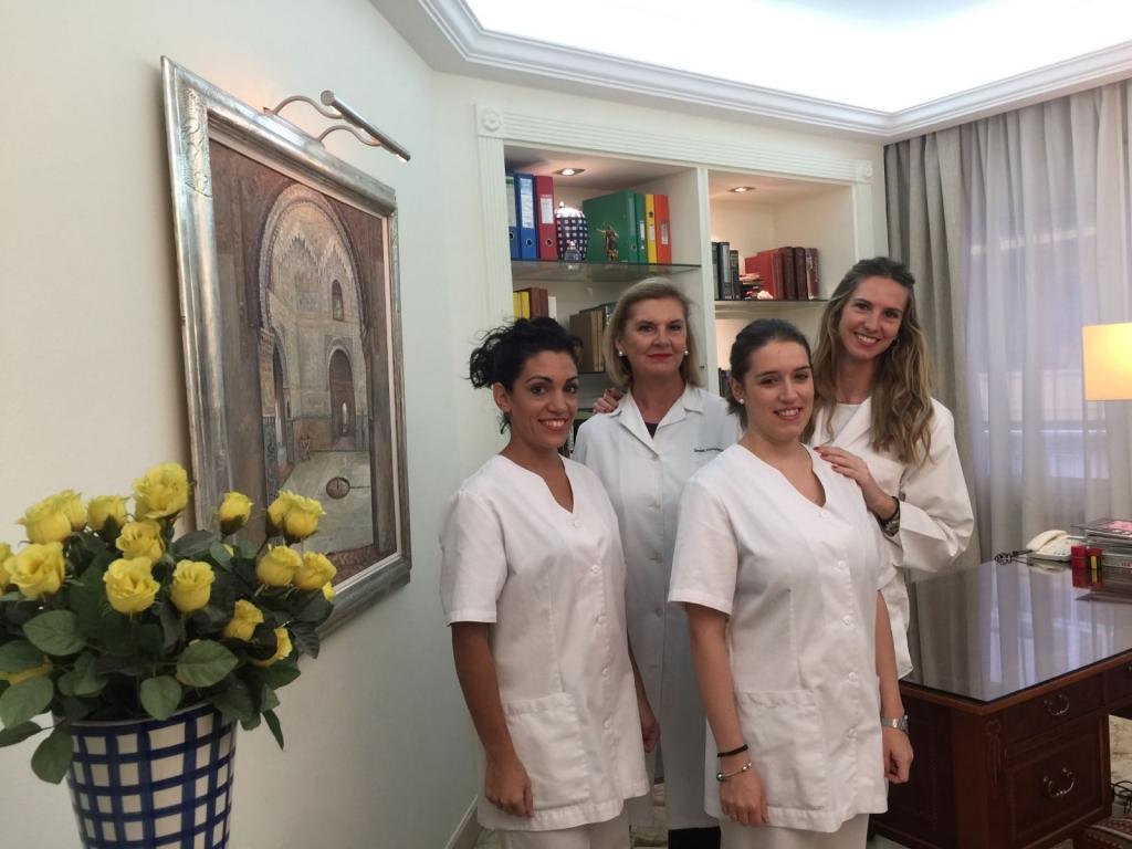 Equipo clinica Vital Granada